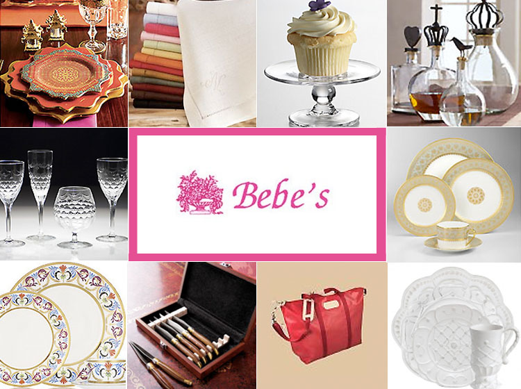 Oklahoma City wedding registry - Bebe's in Nichols Hills, Oklahoma