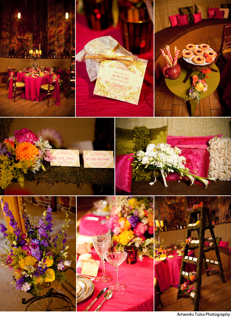 Lasting Impresions of Tulsa, Wedding Tablescapes, Inspiring Wedding Images, The Silo Event Center Tulsa