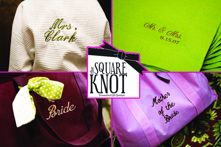Personalized Wedding Items, The Square Knot