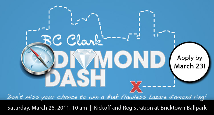 BC Clark Diamond Dash, Downtown Oklahoma City, Lazare Diamond Ring