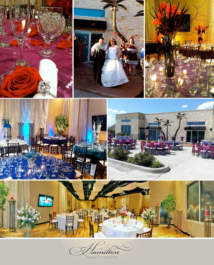 Oklahoma wedding and reception venue - The Hamilton Event Center in Edmond, Oklahoma