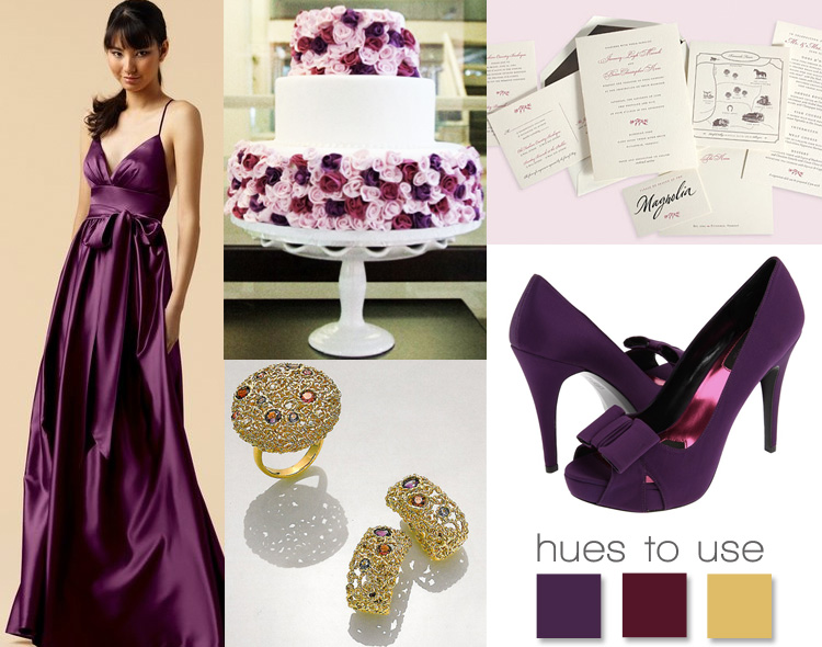 Purple Wedding Inspiration, Hues to Use, Brides of Oklahoma