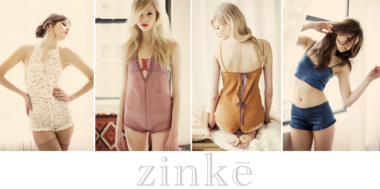 Zinke Lingerie Collection