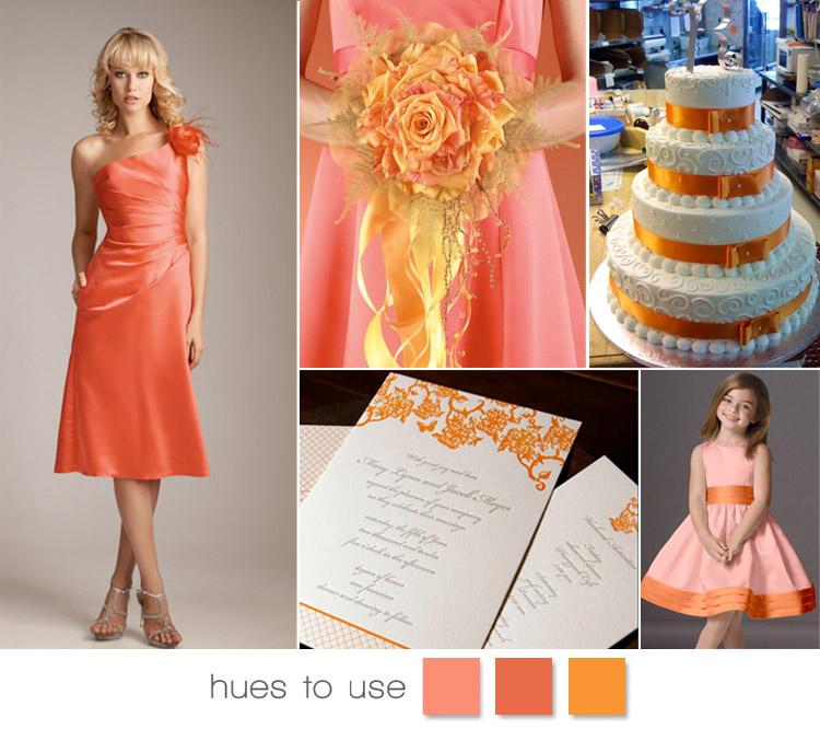 Melon and Tangerine Wedding Inspiration, Citrus Wedding Inspiration Brides of Oklahoma Wedding Blog
