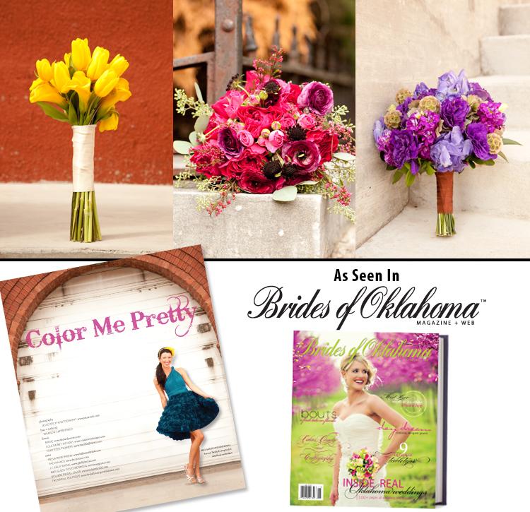 Oklahoma wedding florists - Tony Foss Flowers, Birdie and Cole Dewey Designs