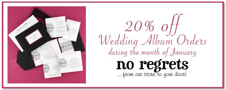No Regrets, Invitation Sale, Oklahoma Wedding Invitations