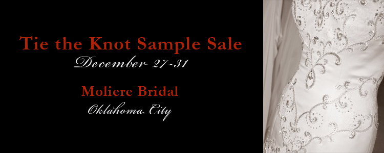 Tie the Knot Sample Sale, Moliere Bridal Salon