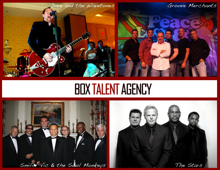 Box Talent Agency, Wedding Entertainment, Live Music for your Wedding