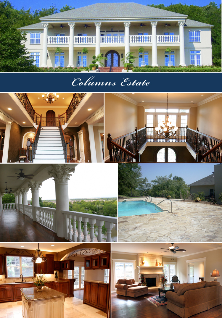 The Columns Estate, Columns Mansion, Tulsa Wedding Venue, Oklahoma Wedding Venue