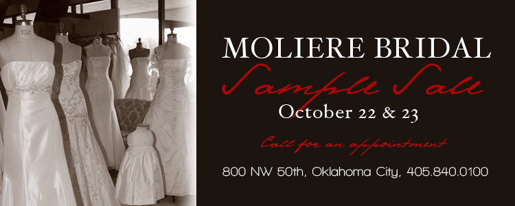 Moliere Bridal Sample Sale