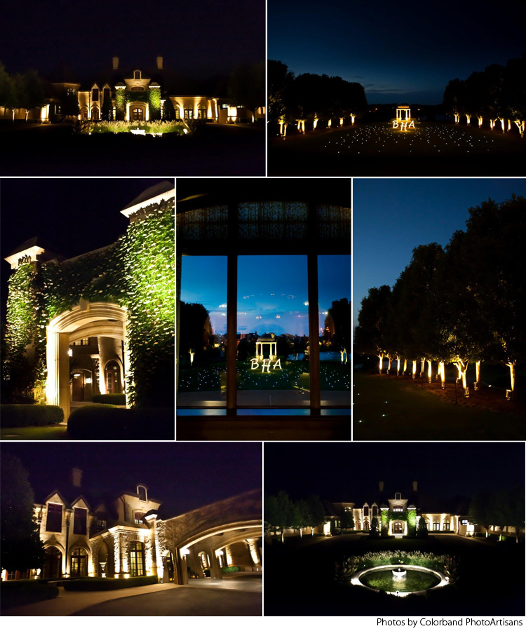 Oklahoma wedding lighting - Innovative Event Solutions