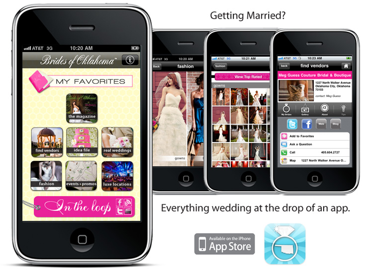 Brides of Oklahoma, Wedding App for the Iphone