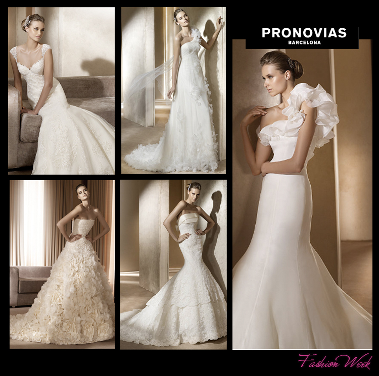 Find Pronovias and other wedding gown designers at Brides of Oklahoma.