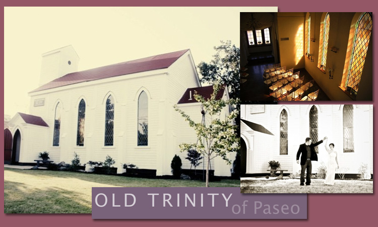 Find Old Trinity of Paseo and other Oklahoma City wedding and reception venues with Brides of Oklahoma.
