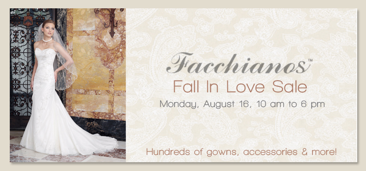 Facchianos Sale, Bridal Attire in Oklahoma