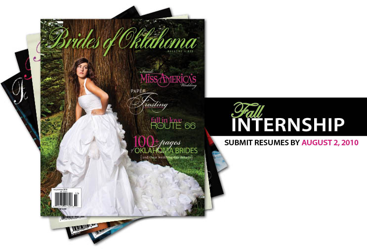 Brides of Oklahoma fall 2010 internship
