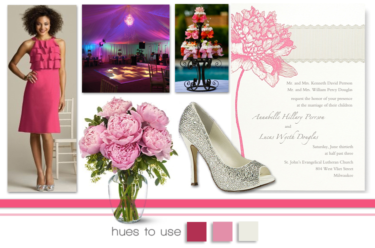 Hues to Use, Strawberry Pink Wedding Inspiration, Brides of Oklahoma