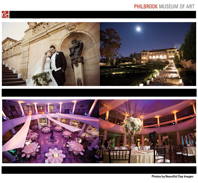 Oklahoma wedding and reception venue - Philbrook Museum of Art