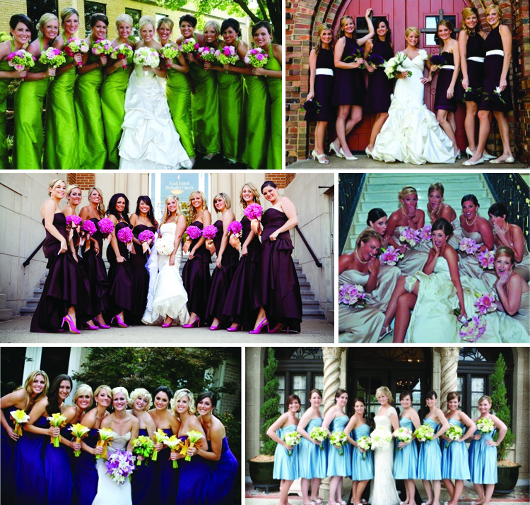 Bridesmaid inspiration, Brides of Oklahoma
