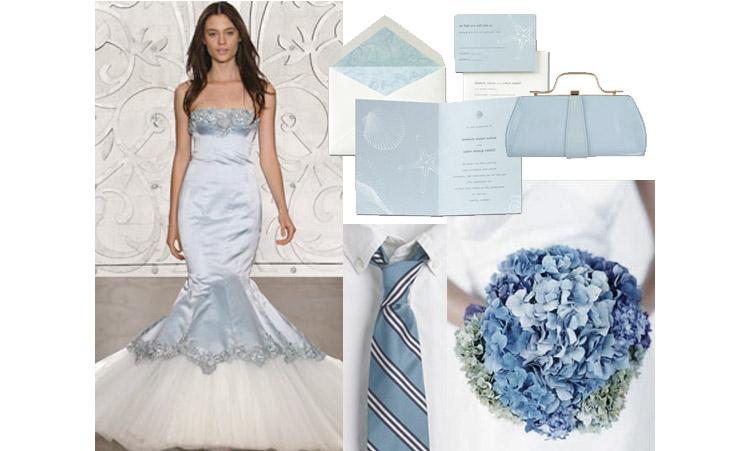 Blue Wedding Inspiration, The Brides of Oklahoma