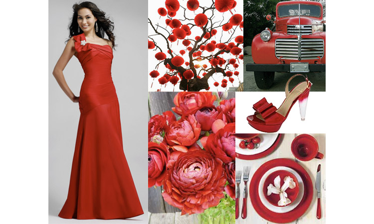 Red Wedding Inspiration, The Brides of Oklahoma