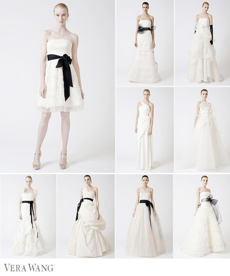 Vera Wang 2010 Fall Bridal Collection