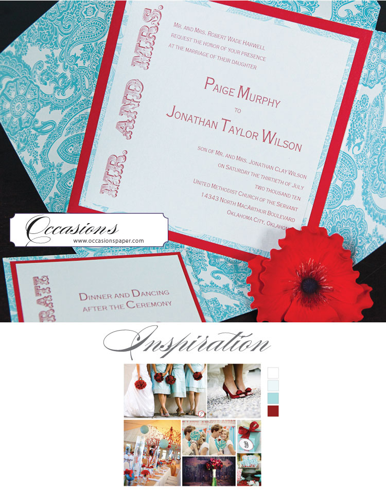 Oklahoma wedding invitation designer - Occasions in Norman, Oklahoma