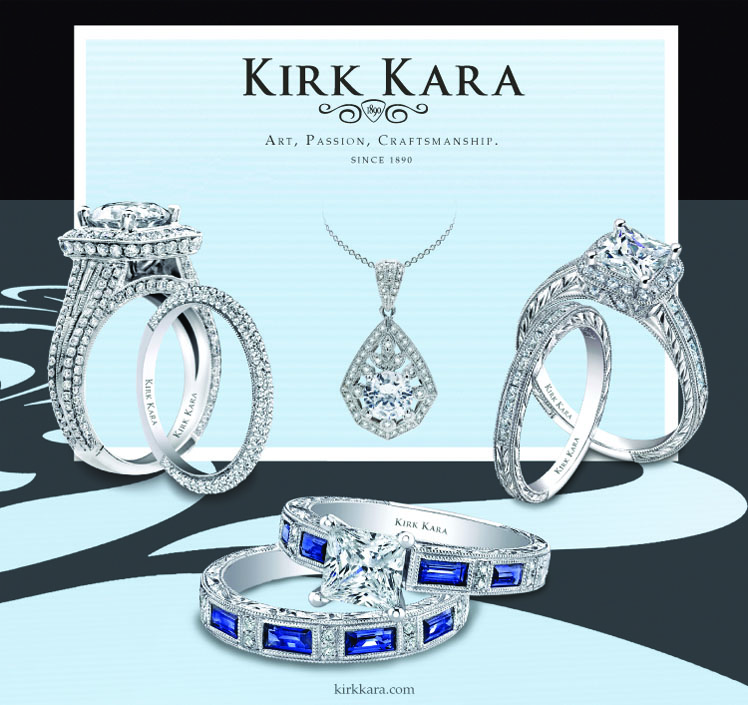 Kirk Kara Trunk Show at Mitchell's Jewelry in Norman OK