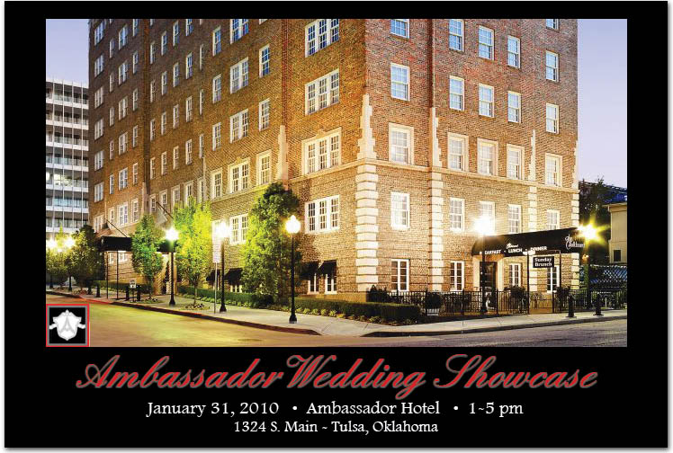 The Ambassador Hotel in Tulsa Oklahoma Wedding Showcase
