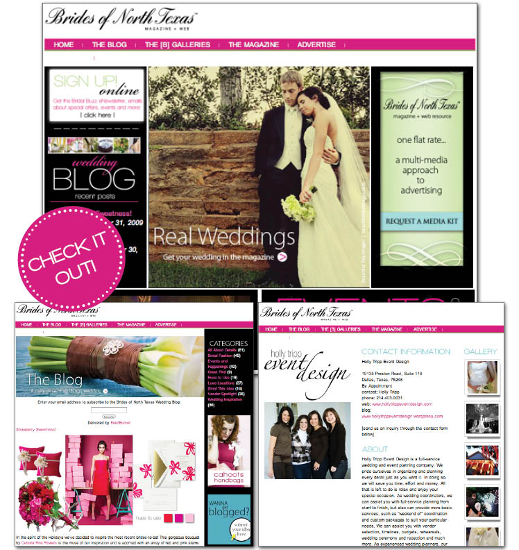 Brides of North Texas, Wedding resource for brides