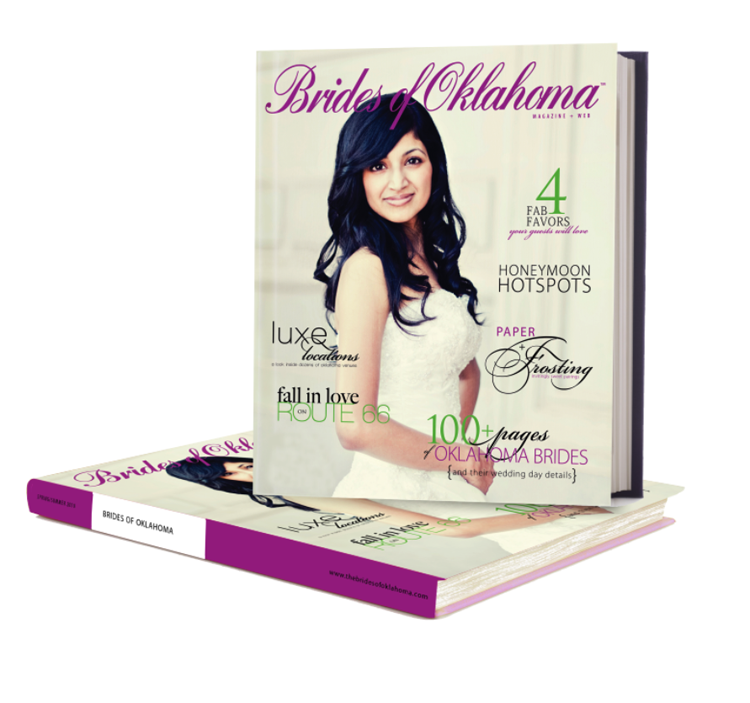 Brides of Oklahoma announce new hardbound magazine available