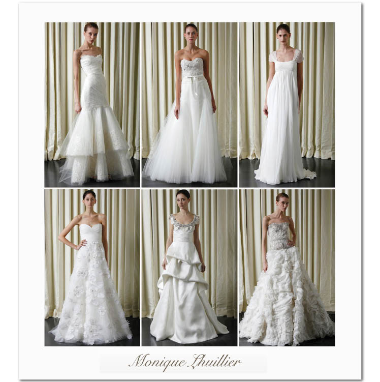 Monique Lhuillier Spring 2010 Collection available at JJ Kelly Bridal Salon in Oklahoma City