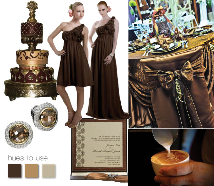 Chocolate Wedding Inspiration