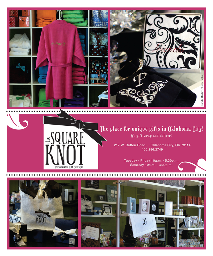 The Square Knot - One year anniversary