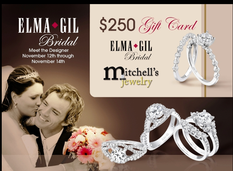 Mitchell's Jewelry hosts Elma Gil Bridal Collection Trunk Show