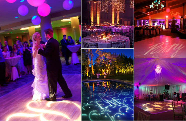 Light up your Oklahoma wedding or reception with Innovative Event Solutions