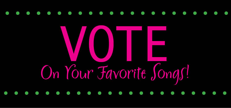 Vote on your favorite reception songs on the Brides of Oklahoma facebook fan page