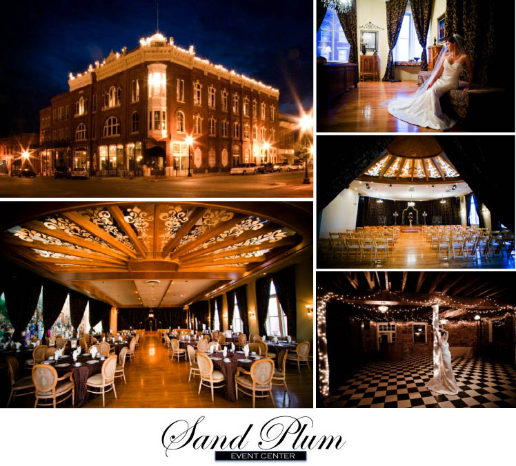 The Sand Plum Event Center in Guthrie, Oklahoma, is available for Oklahoma weddings, receptions and rehearsal dinners