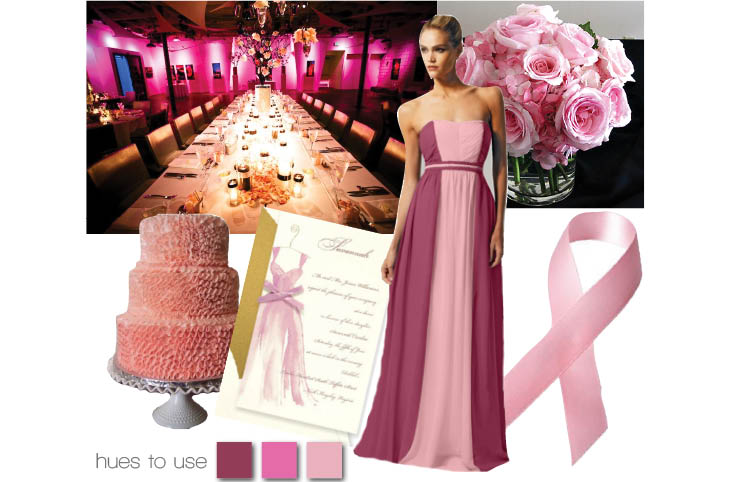 Brides of Oklahoma pink hues to use in honor of Breast Cancer Awareness month