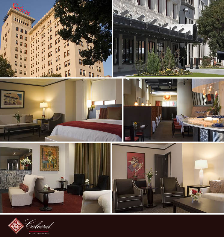 Check out the Colcord Hotel in downtown Oklahoma City for your wedding night stay