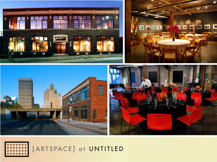 The [Artspace] at Untitled is available for Oklahoma receptions and rehearsal dinners in Oklahoma City