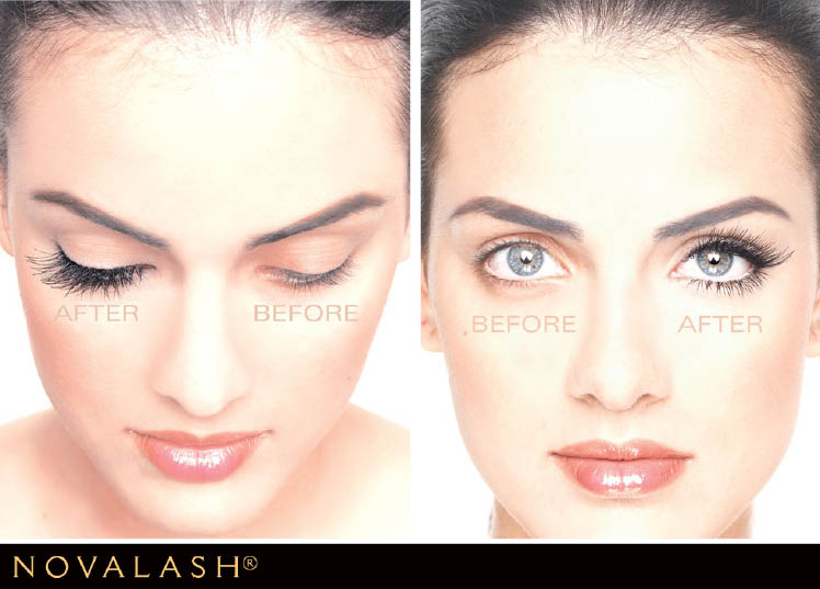 Make your eyes pop with NovaLash available at Indulge Salon and Spa