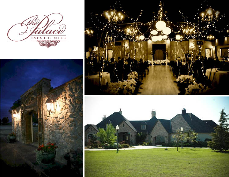 The Palace Event center is available for Oklahoma wedding receptions and events