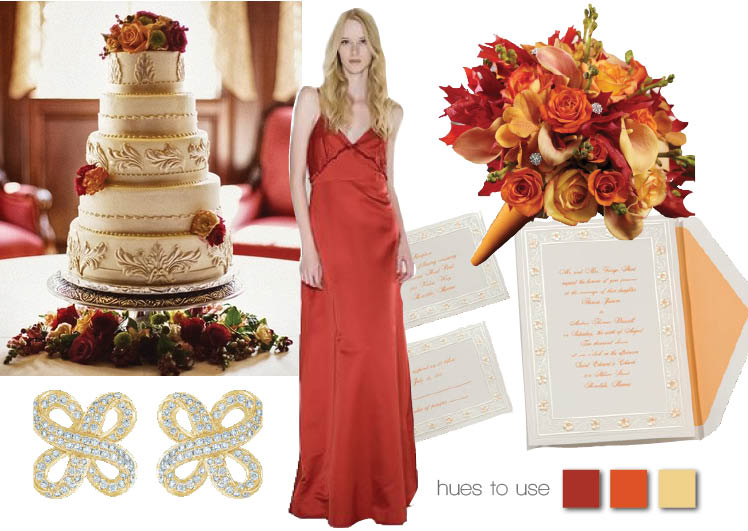 Fall Into Fall With Red Orange And Yellow