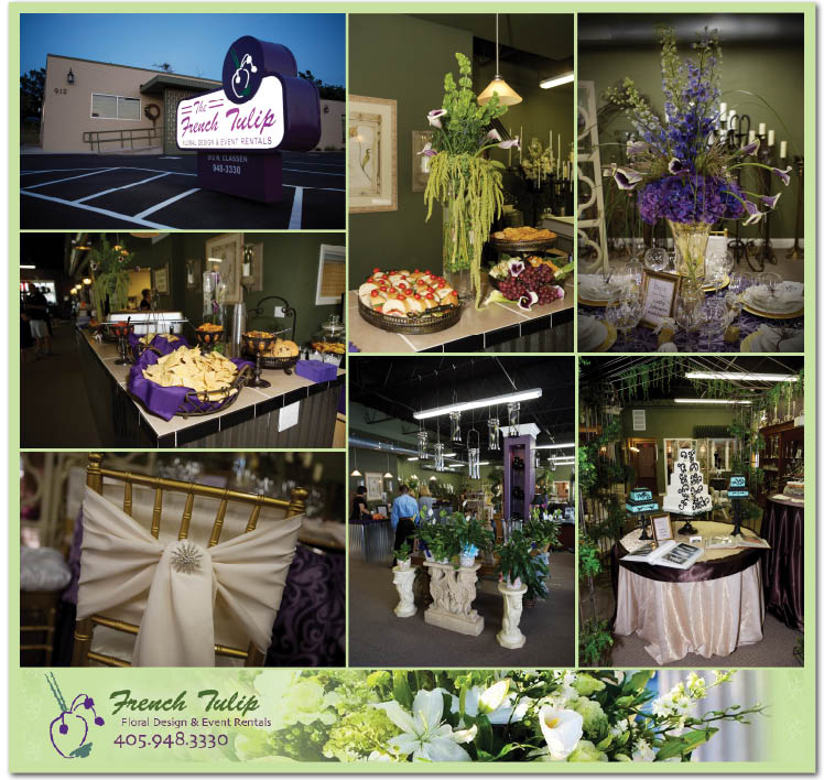 Oklahoma wedding florists The French Tulip has a new location in Oklahoma City!