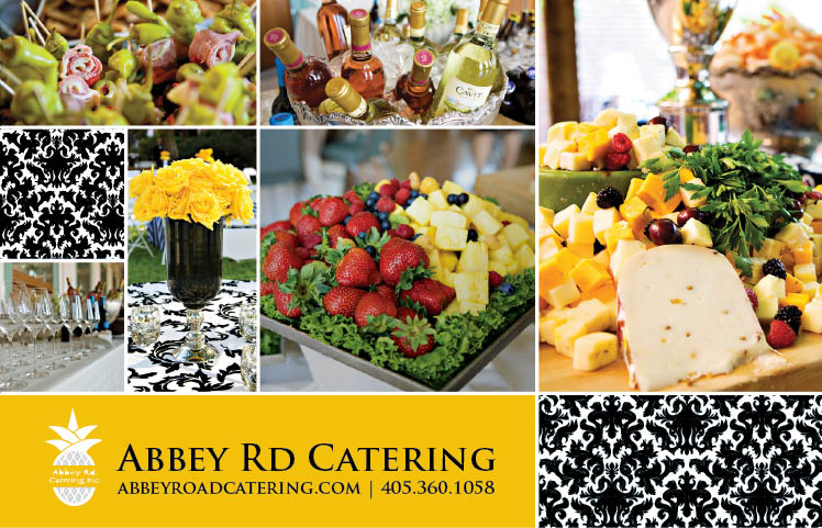 Abbey Road Catering in Norman, Oklahoma, caters Oklahoma weddings and receptions across the state