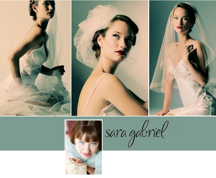 Sara Gabriel wedding veils available at Bella Rose Bridal in Edmond, Oklahoma