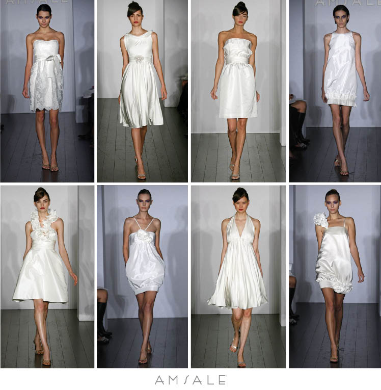 The Little White Dress collection by Amsale is available at Meg Guess Couture in Oklahoma City, Oklahoma
