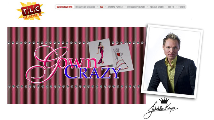 Johnathan Kayne Gillaspie's new show Gown Crazy will air Friday, August 14 at 9 pm