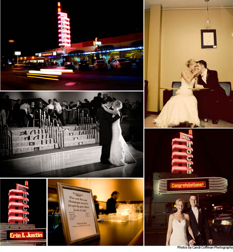 Will Rogers Theatre in Oklahoma City, Oklahoma, available for weddings, receptions and rehearsal dinners